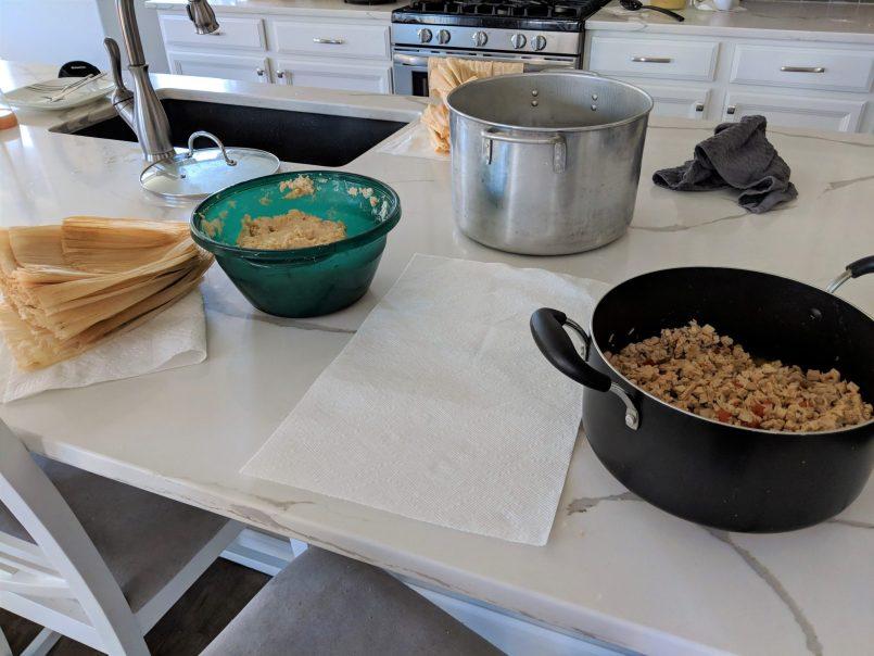 Making Tamales