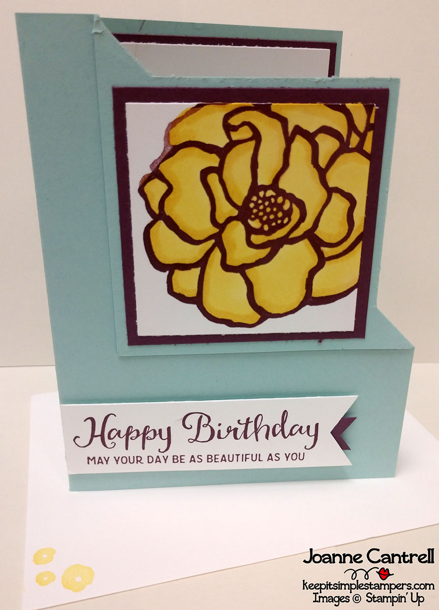 Ink Inspiration Blog Hop Birthday Surprise Keep It Simple
