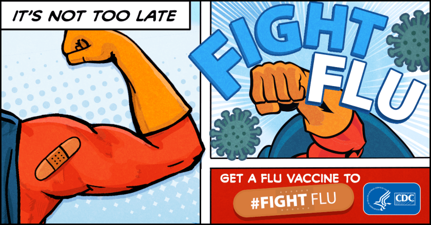 It is much easier to prevent the flu with a flu shot than to try and treat the flu after you get sick.