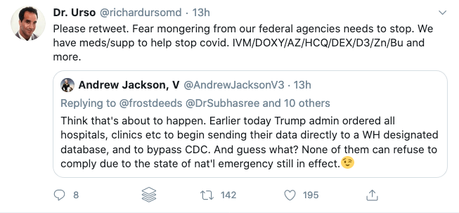 There is no evidence that Urso's COVID-19 cocktail will stop the SARS-CoV-2 virus.