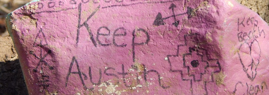 Keep-Austin-Beautiful-rock-secret-beach