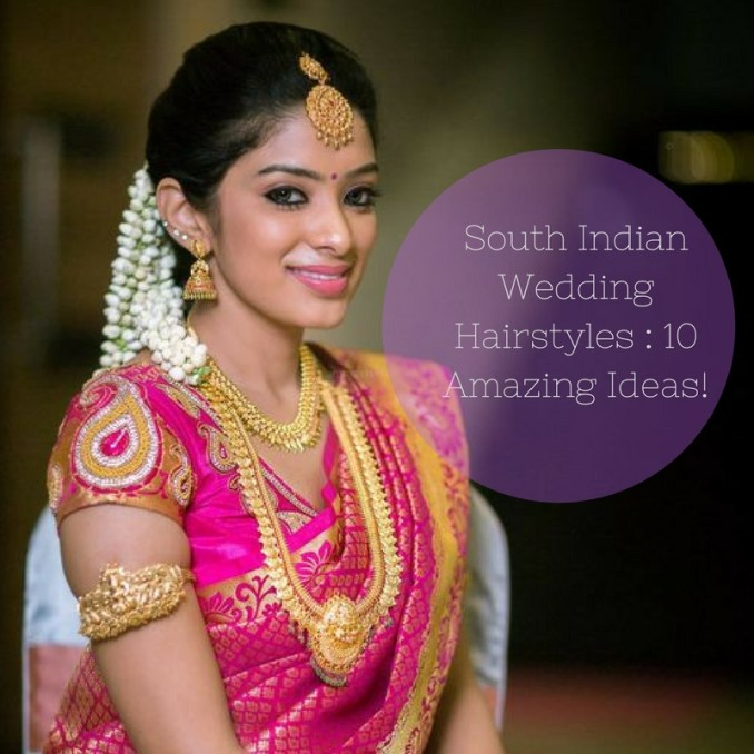 Image Result For South Indian Hairstyles For Wedding