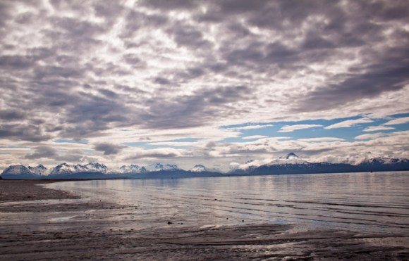 One spellbinding day, in Kachemak Bay.