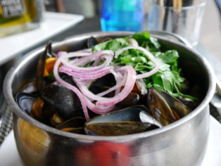 I love mussels but this surprised me at being so delicate in texture and in taste!