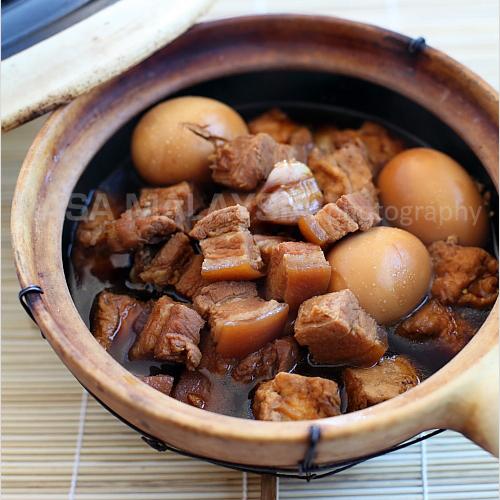 Braised Pork Belly In Soy Sauce Tau Yew Bak