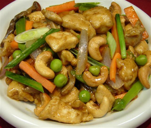 Chicken Cashew Nut Sauce