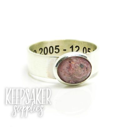 fairy pink ashes ring