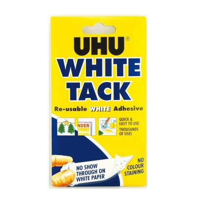 White Tack for photographing keepsake and breastmilk jewellery, for holding pieces in place and applying resin top coats or doming