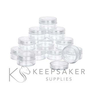 3ml sending pots clear small