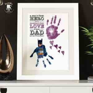 Superhero Handprints