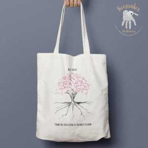 Personalised Class Tree | Teacher Tote Bag