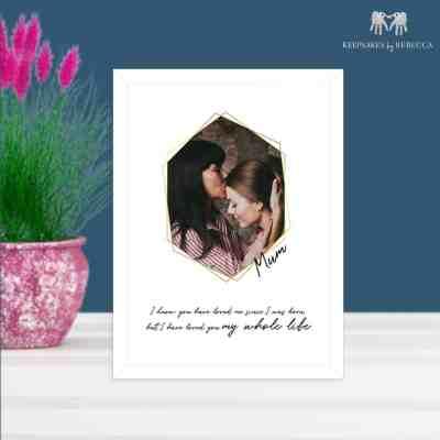 Photo gift for mum
