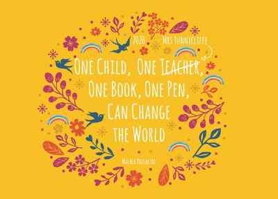 teacher inspirational quote   teacher gift