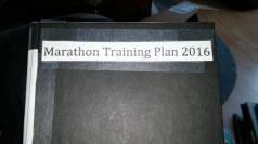 Marathon Training Plan 2016