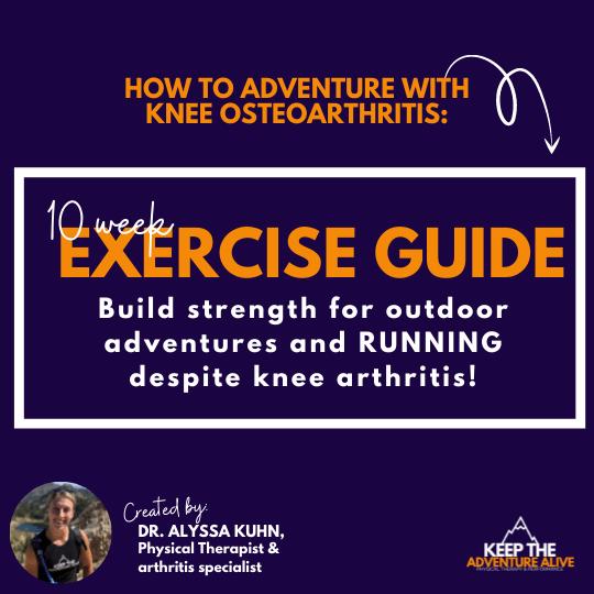 knee arthritis exercise pdf