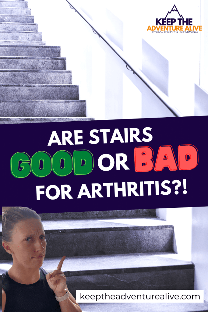 is stair climbing good for osteoarthritis?!