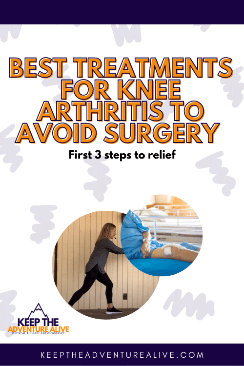knee arthritis treatment without surgery