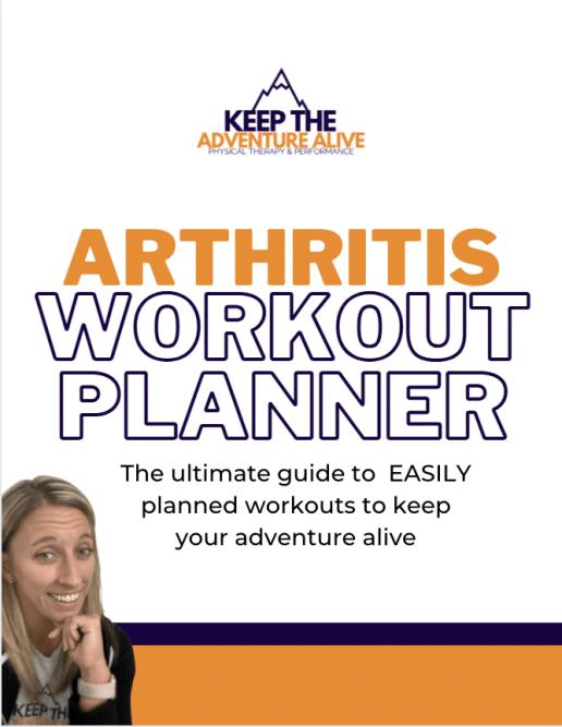 arthritis workout planner