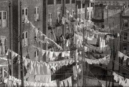 Laundry in New York in the Past (4)