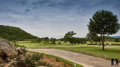 Banyan Golf Club Blick über den Platz