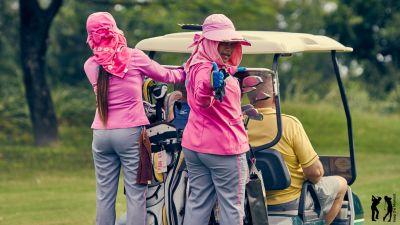 Springfield Golf Club Cart mit Caddie