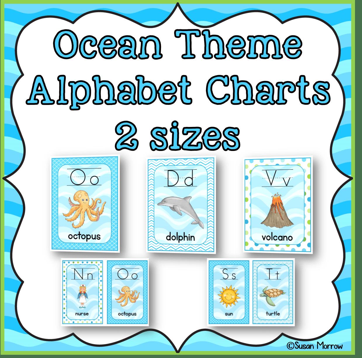 An Ocean Theme Classroom