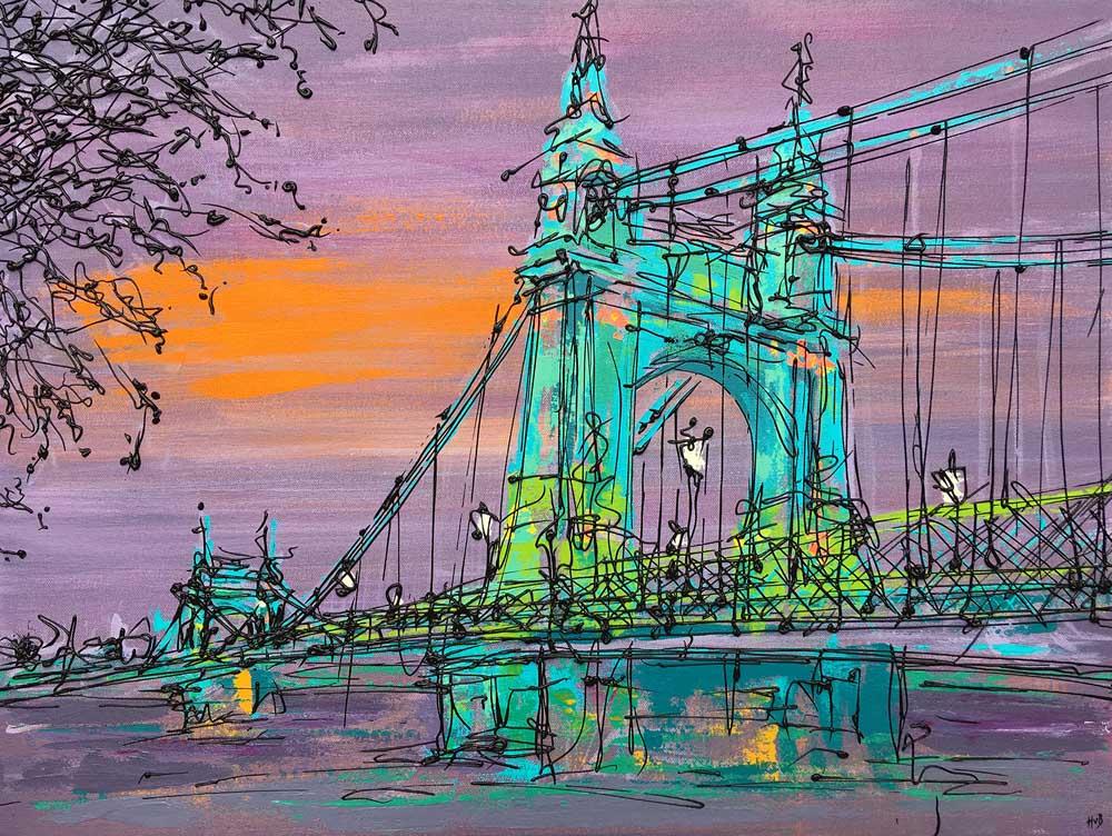 Hannah van Bergen Hammersmith_Bridge