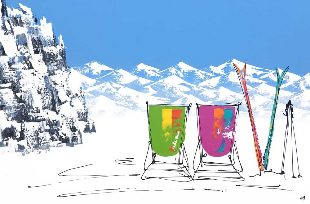 Hannah van Bergen Ski_Sunday
