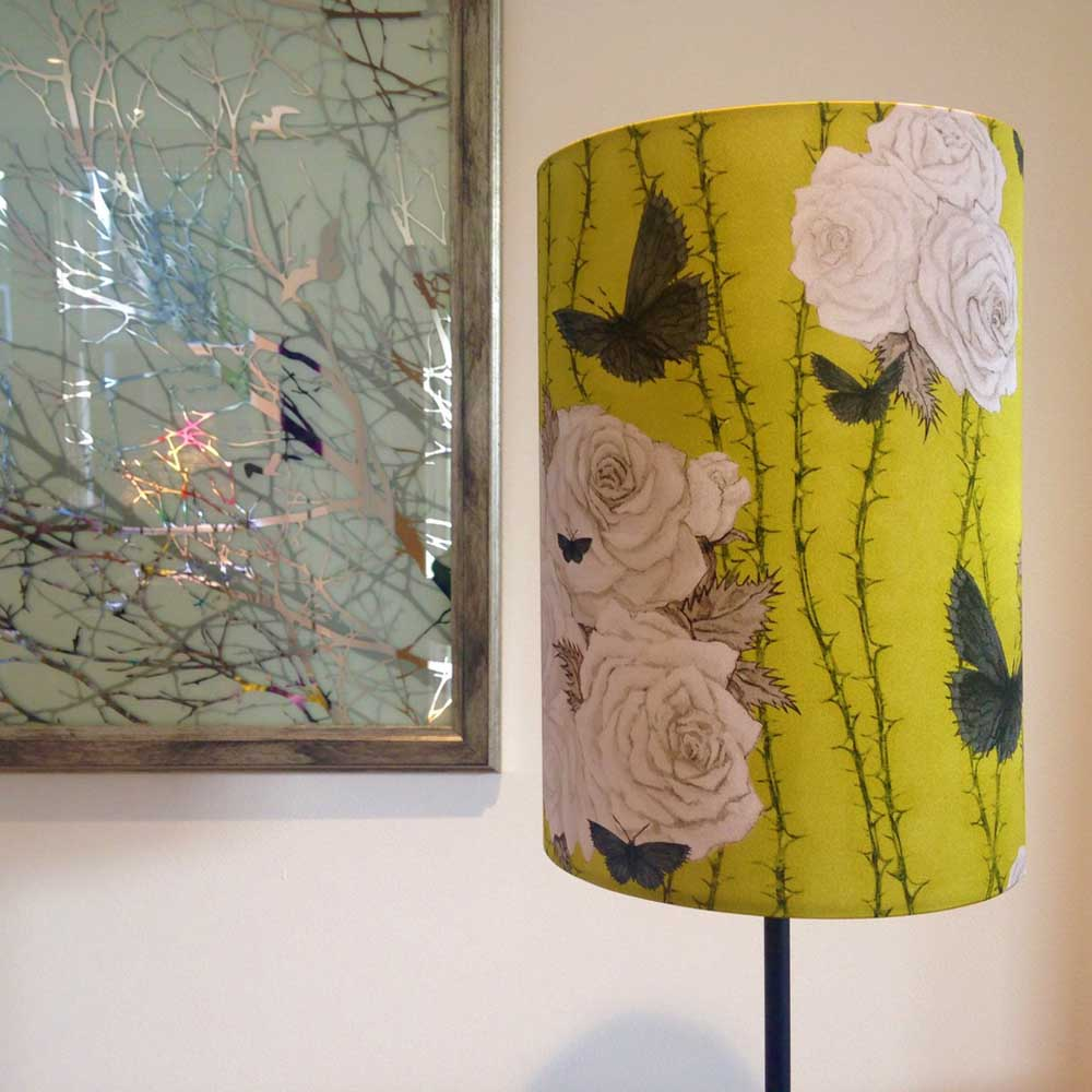 Louise Rushford-Lux and Bloom- Rosabunda lampshade Coppice Guild - 12-high