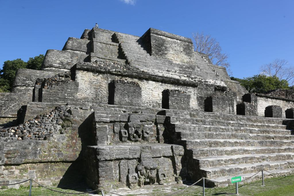 Sun God Temple Altun Ha
