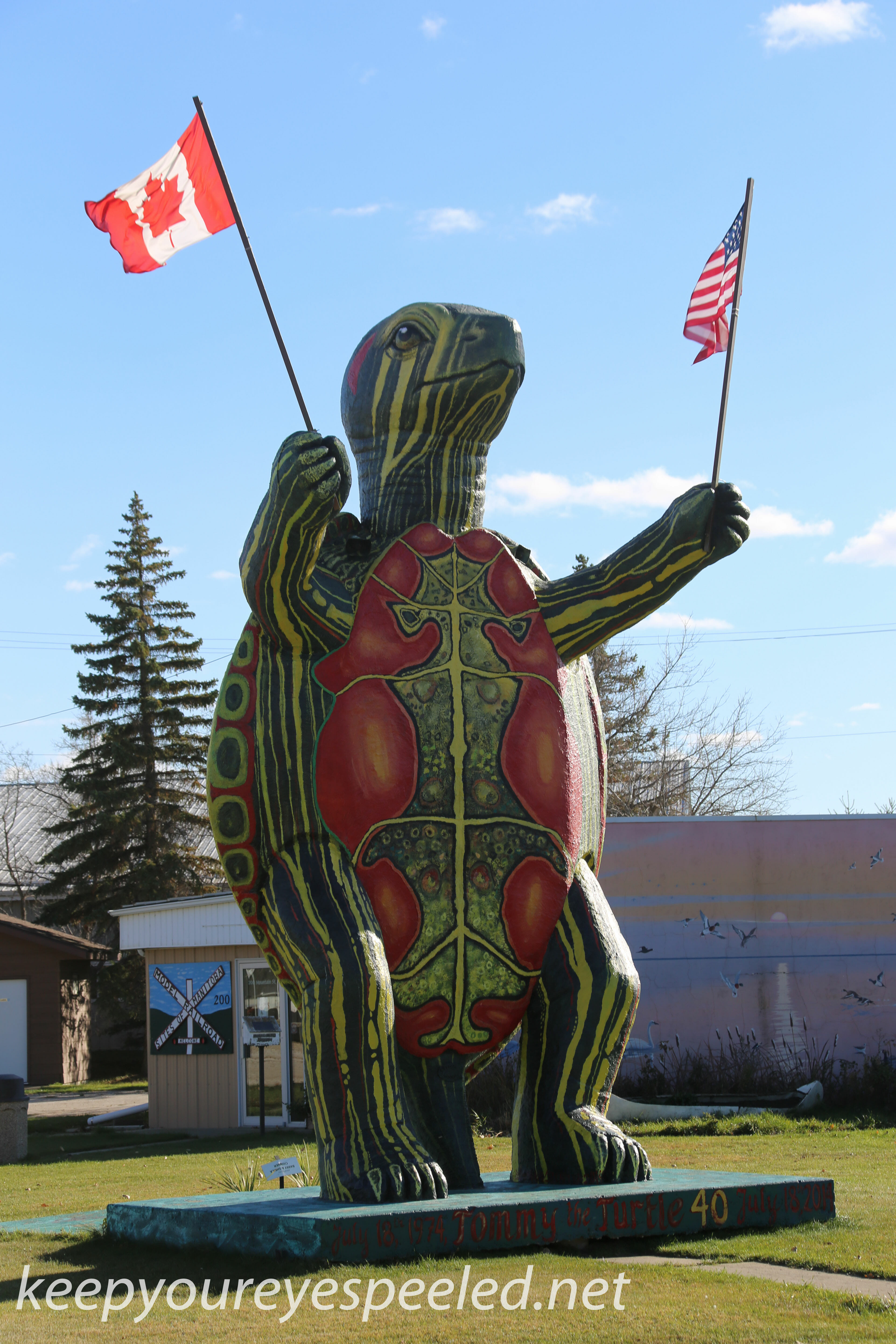 North Dakota drive to Canada and Peace gardens (11 of 38