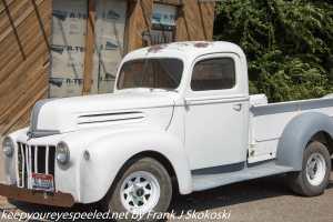 old white truck Hazelton Idaho
