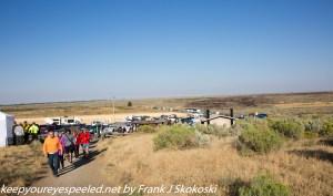 parking lot northern Menan Butte Idaho