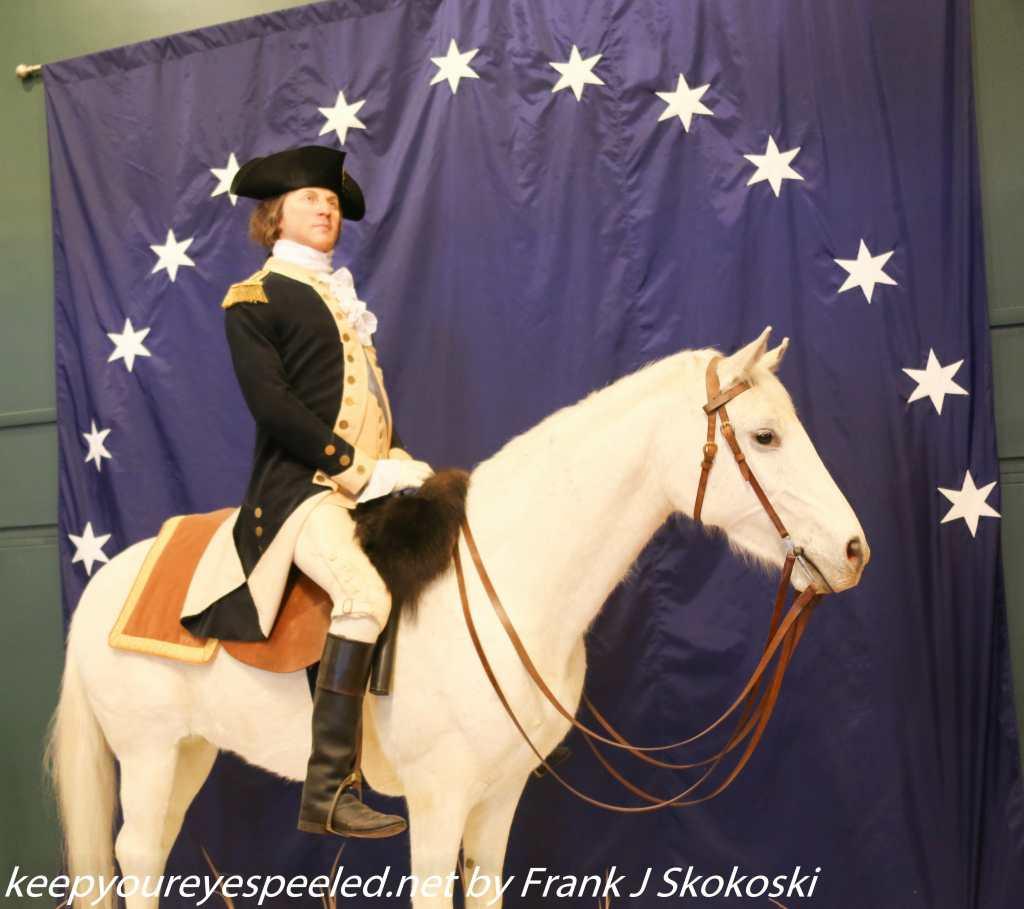 George Washington on horse