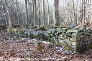 old ruins along creek