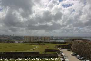 clouds and city view from fort