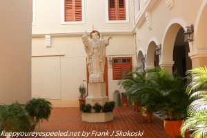 Statue in House of health