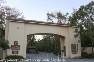 gate at park entrance