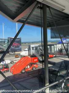 airplane in Oslo airport