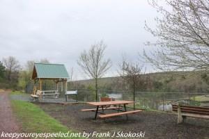 picnic area at reservoir