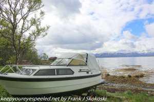boat along shore