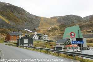 entrance to fishing village