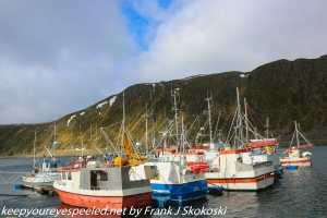 boats in Nordvagen harbor