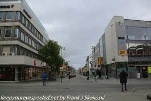 street in downtown Tromso