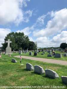 St Michael's cemetery in McAdoo
