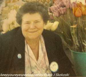 mom in Yugoslavia