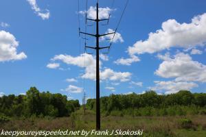 new power line poles