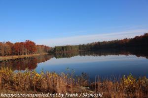 Lake Irena in autumn sun