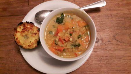 soep in kom