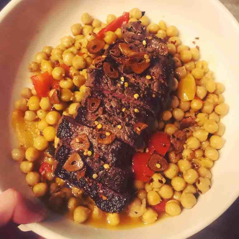 Keeva Eats Belfast Food Blog Charred Sirloin Steak
